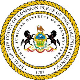 The Seal of the Philadelphia Court of Common Pleas