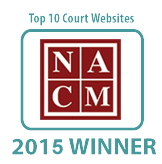 NACM Top Ten Court Website 2015 Winner